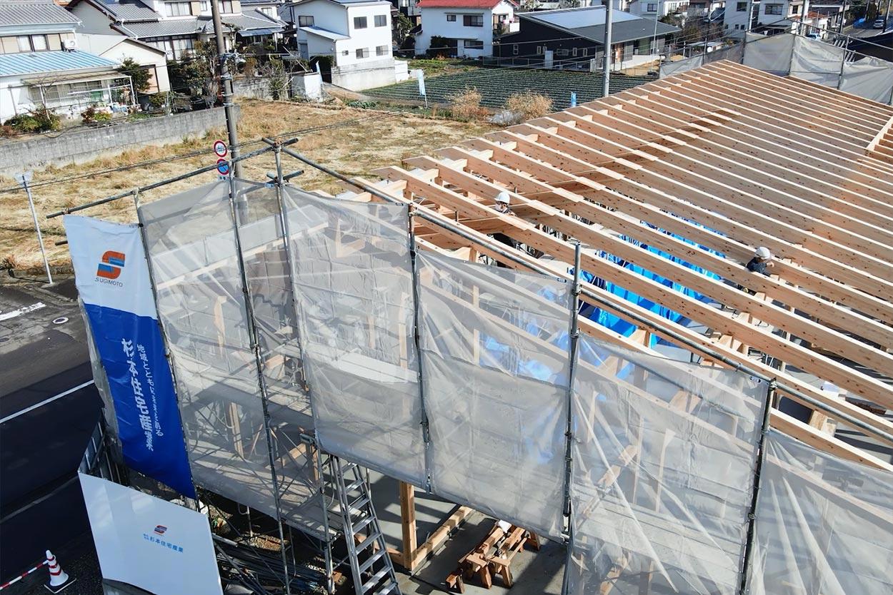 株式会社杉本産業住宅作業風景